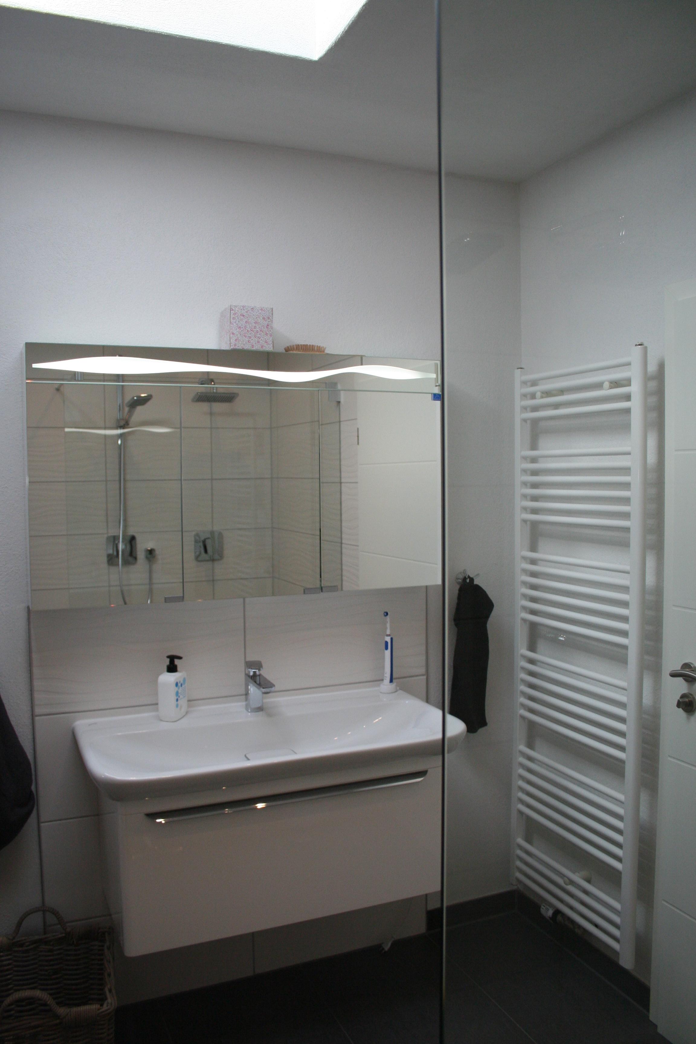 Gäste wc waschtisch keramq doppeldusche waschtischanlage